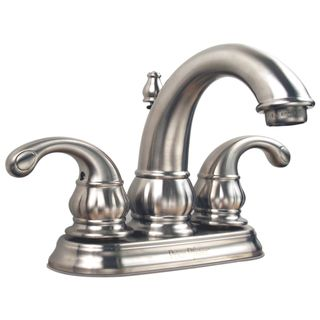 Price Pfister 4 inch Centerset Satin Nickel 2 handle Lavatory Faucet