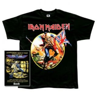 Iron Maiden   Trooper Tour T Shirt Clothing