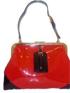 Kate Spade Pxru3252 Modern Red Parker Barclay Large Patent