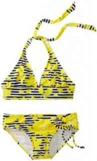 Roxy Kids Girls 7 16 Seashore Party Print 70s Halter 2