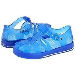Pablosky Kids 980600 (Infant/Toddler) Blue Jelly Sandals