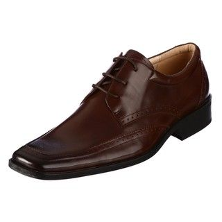 Steve Madden Mens Kanon Brown Oxfords