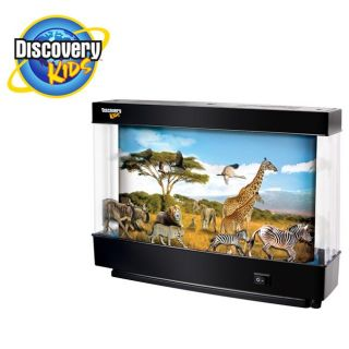 Discovery Kids Animated Safari Lamp