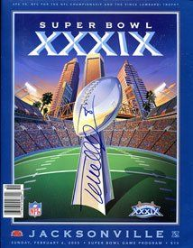 Terrell Owens Autographed Super Bowl XXXIX Program Sports