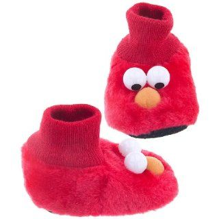 Elmo Infant / Toddler Sock Top Bootie Puppet Slippers   Sz 9/10 Shoes