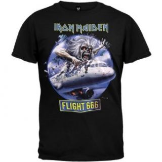 Iron Maiden   Flight 666 T Shirt   Small Clothing
