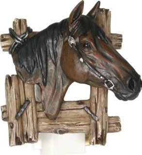 Bay Quarter Horse Nightlight 3d