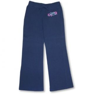 Roxy Girls Navy Pants ~ Flower Power SIZE M Clothing