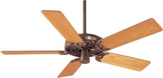 Hunter Classic Original 52 inch Chestnut Brown Fan