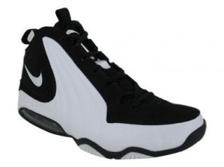 NIKE AIR MAX WAVY BASKETBALL SHOES 8.5 (BLACK/WHITE/WHITE) Shoes