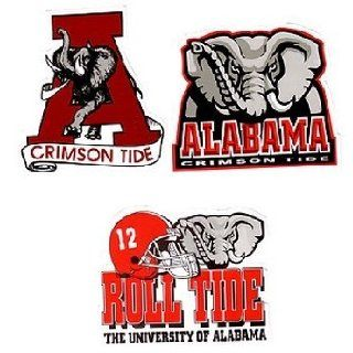 Alabama Sticker Large 3 Assorted 36 Case Pack 108
