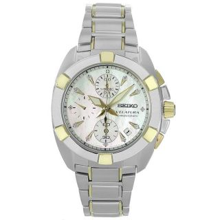 Seiko Ladies Chronograph Stainless Steel Watch