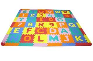 Soft Foam Alphabet ABC 123 Baby Kids Puzzle Play Mat   64