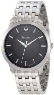 Bulova Mens 96A134 Classic Round Bracelet Watch Watches