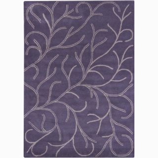 Bajrang Hand tufted Wool Rug (5 x 76)