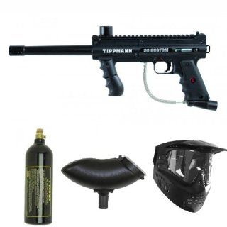 Tippmann PLATINUM 98 Custom Paintball Gun Package Sports