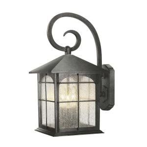 Bay Aged Iron 9 In. 3 Light Wall Lantern Y37030 151