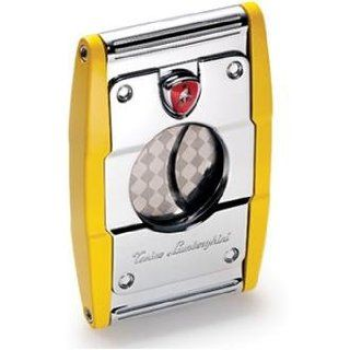 Lamborghini Yellow Cigar Cutter Jewelry