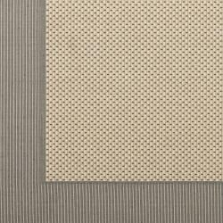 Poolside Grey/ Cream Indoor Outdoor Rug (67 Square)