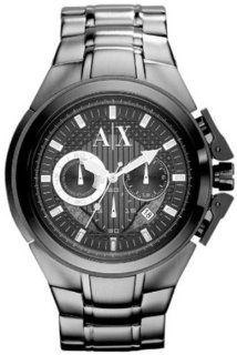 Armani Exchange Mens AX1181 Silver Stainless Steel Quartz Watch with
