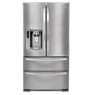 LG Stainless Steel French Door 28 cubic foot Refrigerator