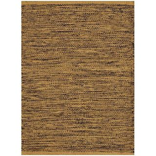 Hand woven Black/ Beige Jute Rug (6x 9) Today $146.69