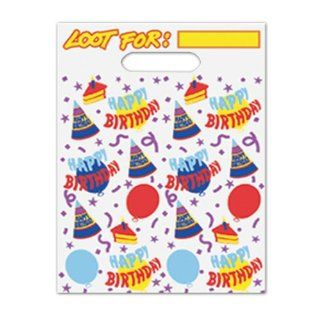 Happy Birthday Loot Bags Case Pack 192