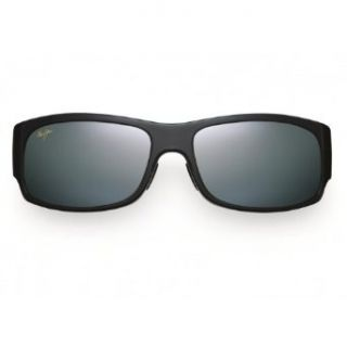 Maui Jim Longboard Fashion Sunglasses   Black Clothing