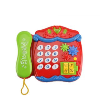 Cute Cartoon Musical Telephone Baby/ Toddler Toy