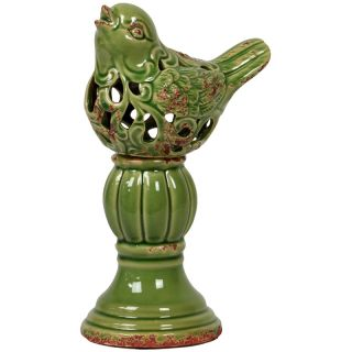 Urban Trends Collection Green Cement Bird Feeder Today $33.49 Sale $