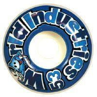 World Industries Wet Willy Logo 53mm Wheels Sports