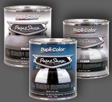 Dupli Color BSP206 Chrome Yellow Paint Shop Finish System   32 oz