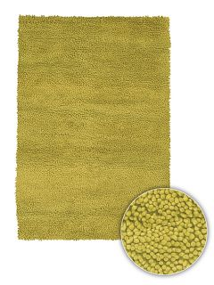 Hand woven Contemporary Majesta Wool Rug (8 Round)
