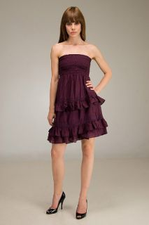 Juicy Couture  Shadow Plaid Party Girl Strapless Dress for women