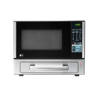 LG Stainless Steel 1.1 Cubic Foot Counter Top Combo Microwave and