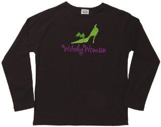 Witchy Woman T Shirt   Black   Large