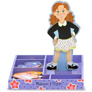Melissa & Doug Maggie Leigh Magnetic Dress Up