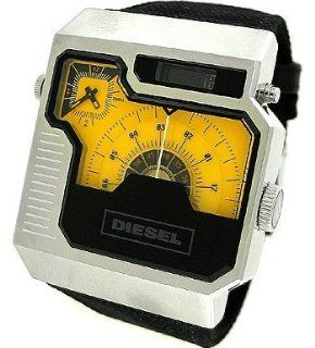 Diesel Analog Digital Yellow/Black Dials Mens Watch #DZ7223 Watches