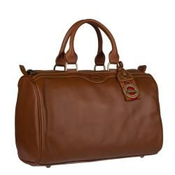 Longchamp Au Sultan Leather Bowler Bag