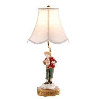 Jeanne Reed French Porcelain Figurine Table Lamp
