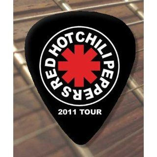 Red Hot Chili Peppers Tour X5 Premium Guitar Plektron Alle