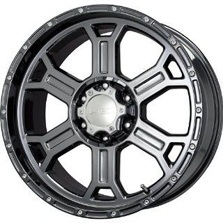 Tec Raptor Phantom Black Chrome Wheel (20x9.5/6x139.7mm)